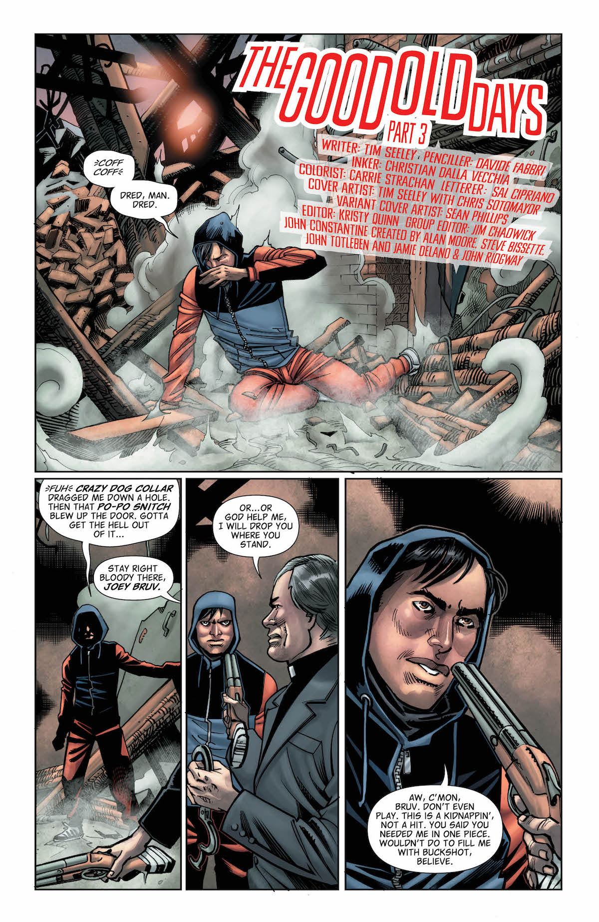 Hellblazer #21 page 1
