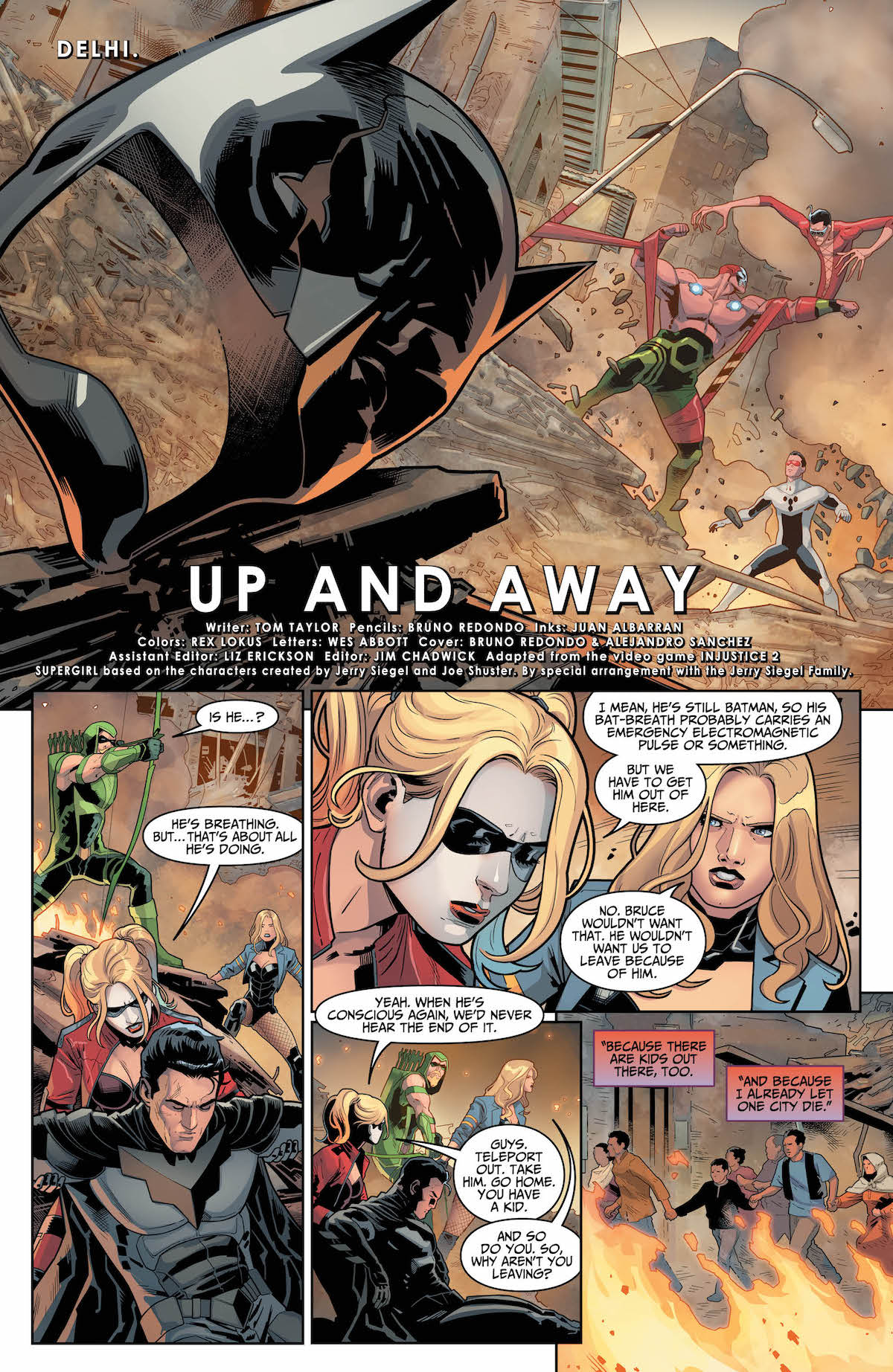 Injustice 2 #24 page 1