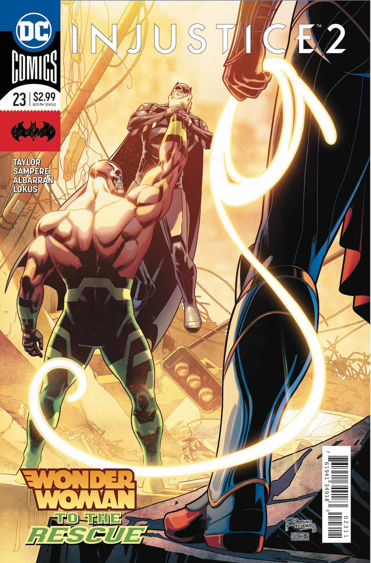 Injustice 2 #23 cover