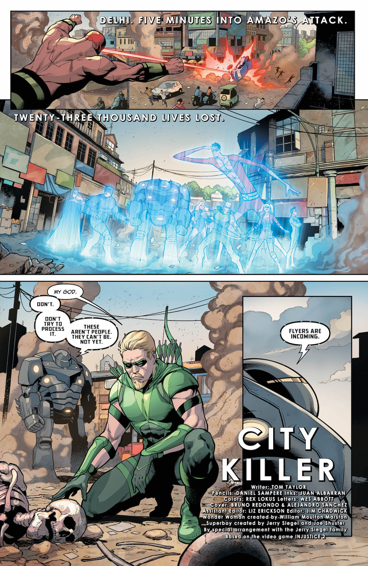 Injustice 2 #23 page 1