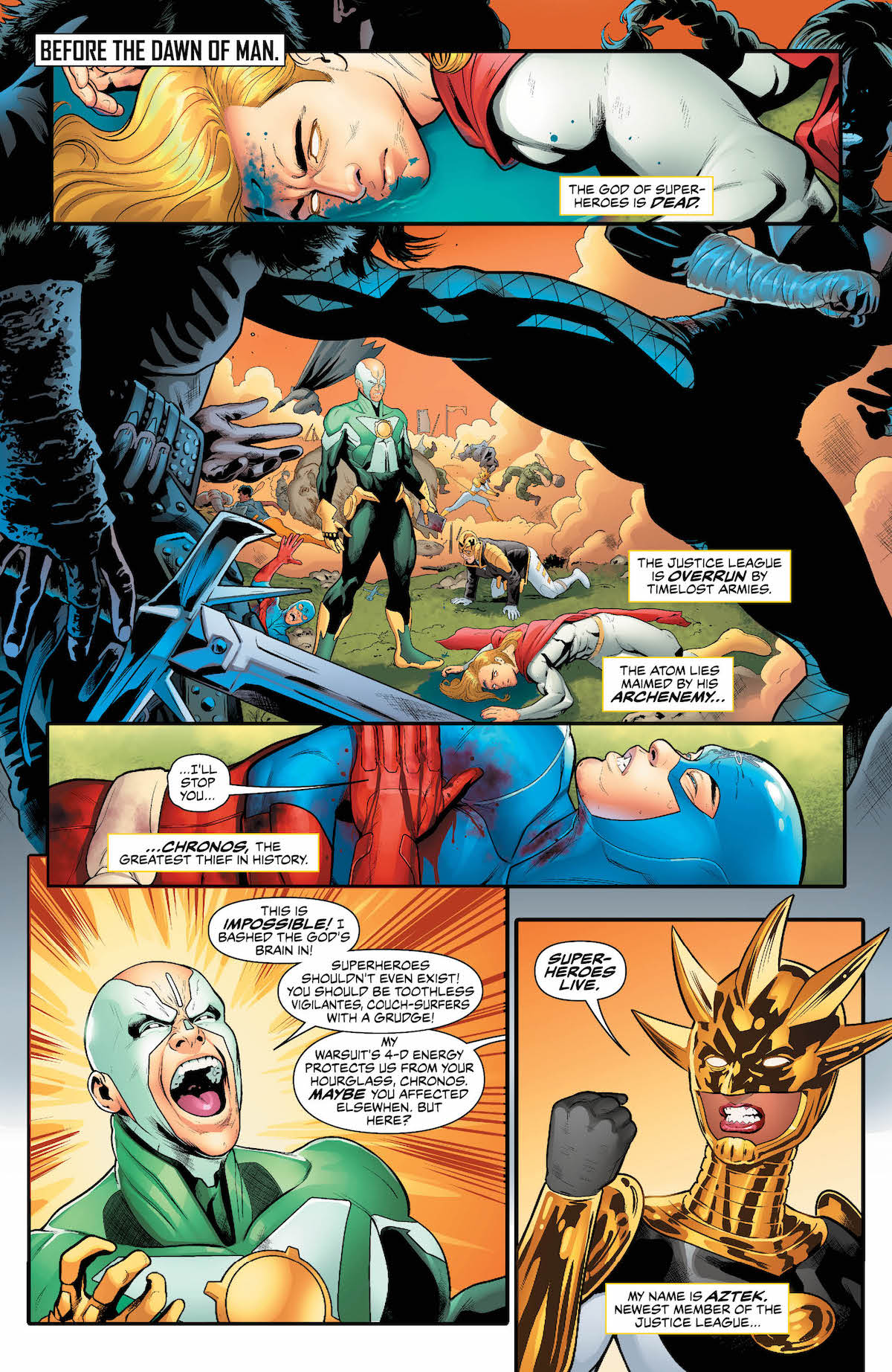 Justice League of America #29 page 1