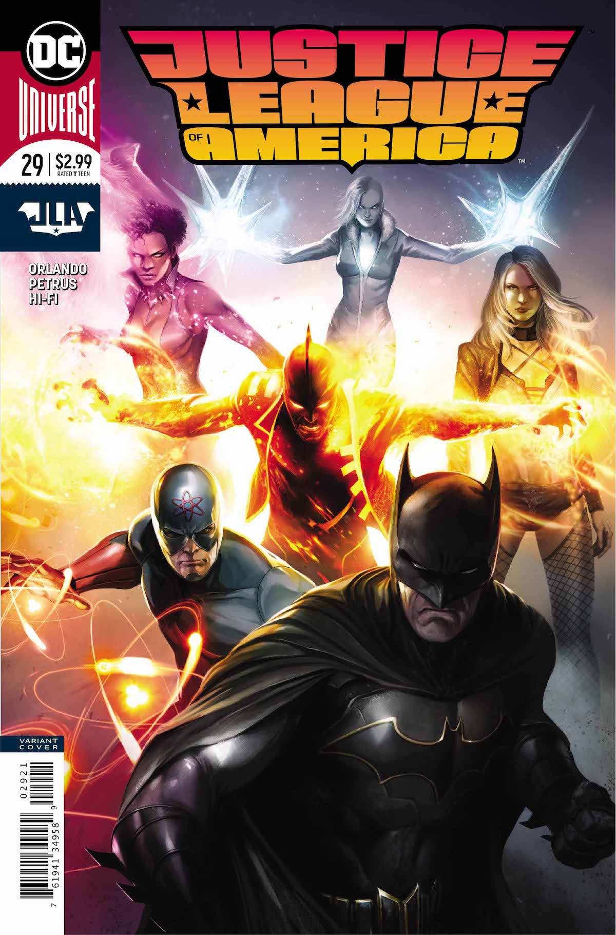 Justice League of America #29 variant cover
