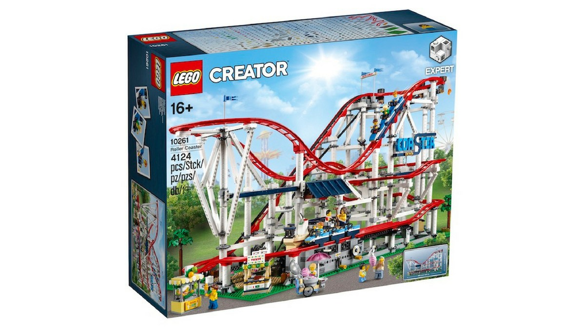 Finally! The LEGO Creator Expert: Roller Coaster kit will be available to VIPs in mid-May.