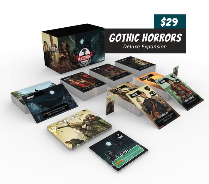 Maximum Apocalypse: Gothic Horrors Expansion Contents