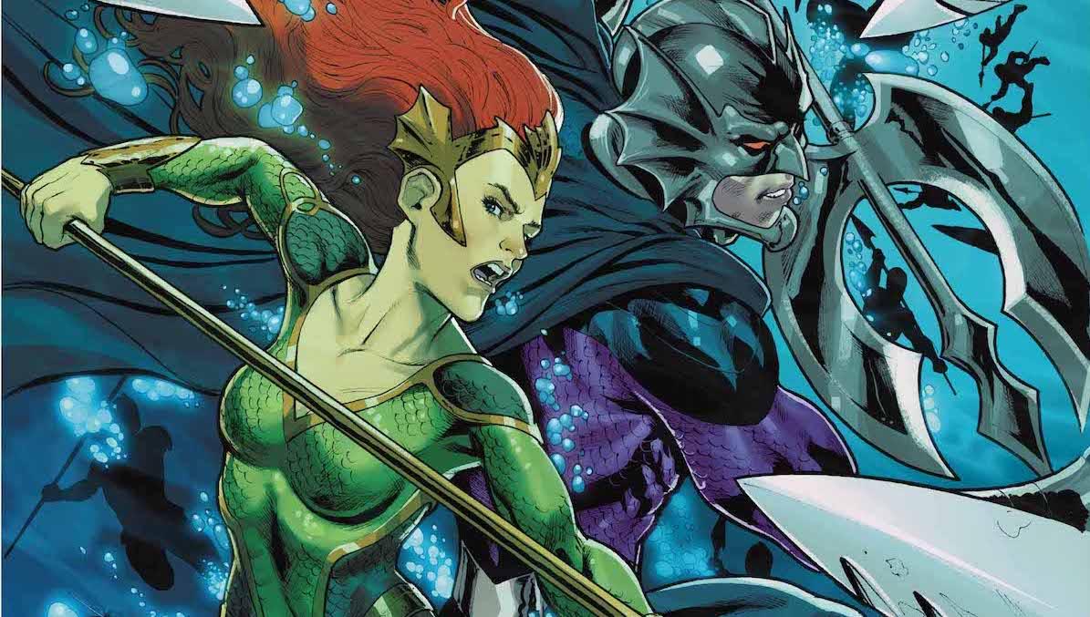 Mera, Queen of Atlantis #3 cover