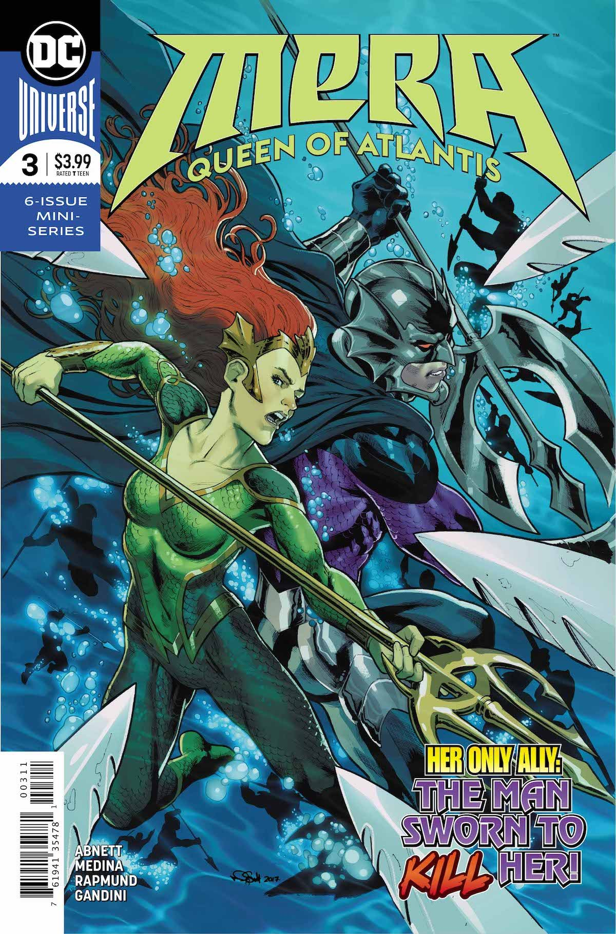 Mera Queen of Atlantis #3 cover
