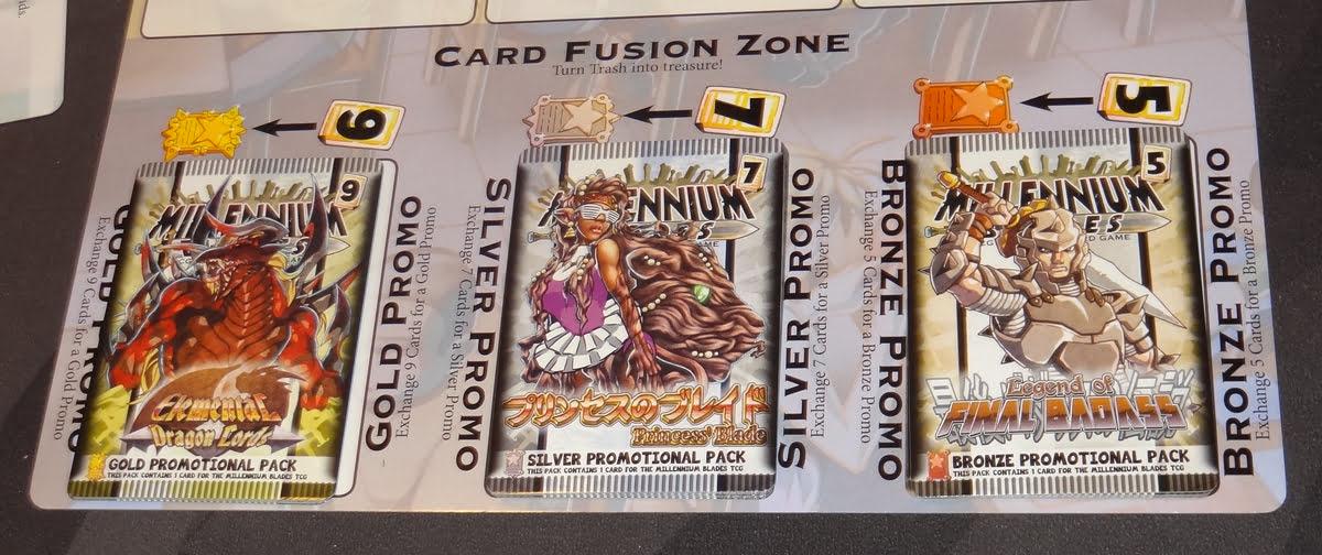 Millennium Blades card fusion zone