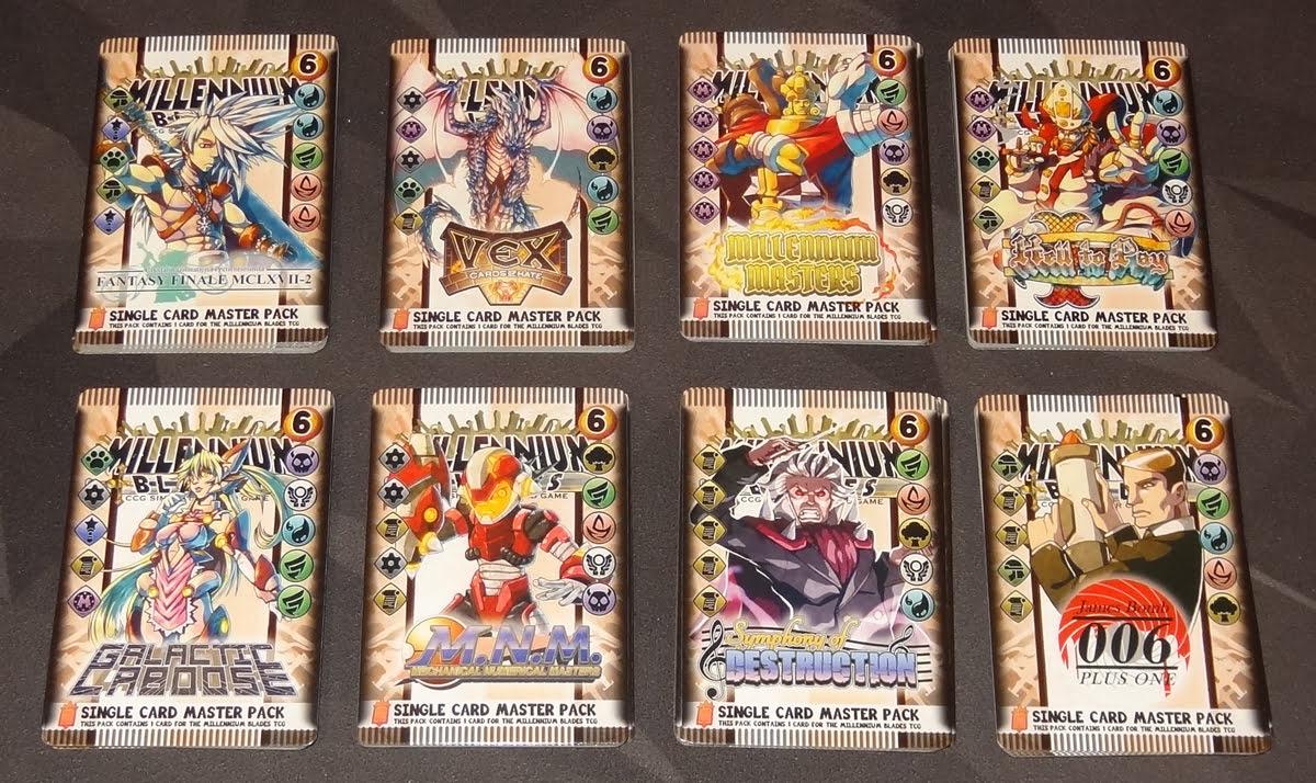 Millennium Blades master sets