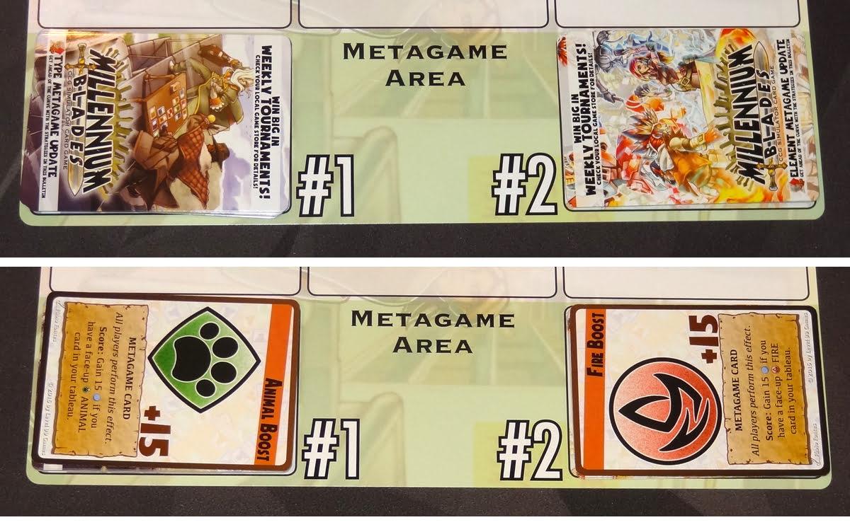 Millennium Blades metagame area