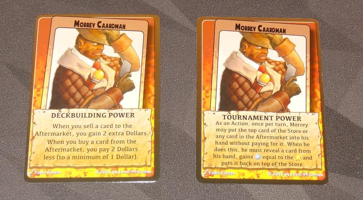 Millennium Blades character powers