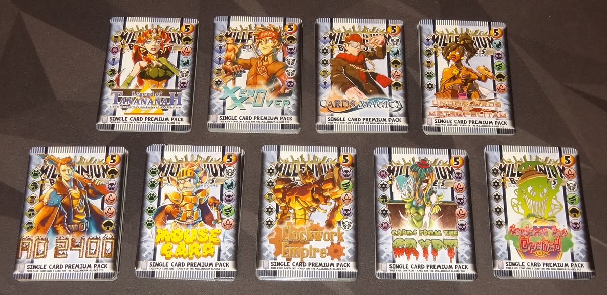 Millennium Blades premium sets