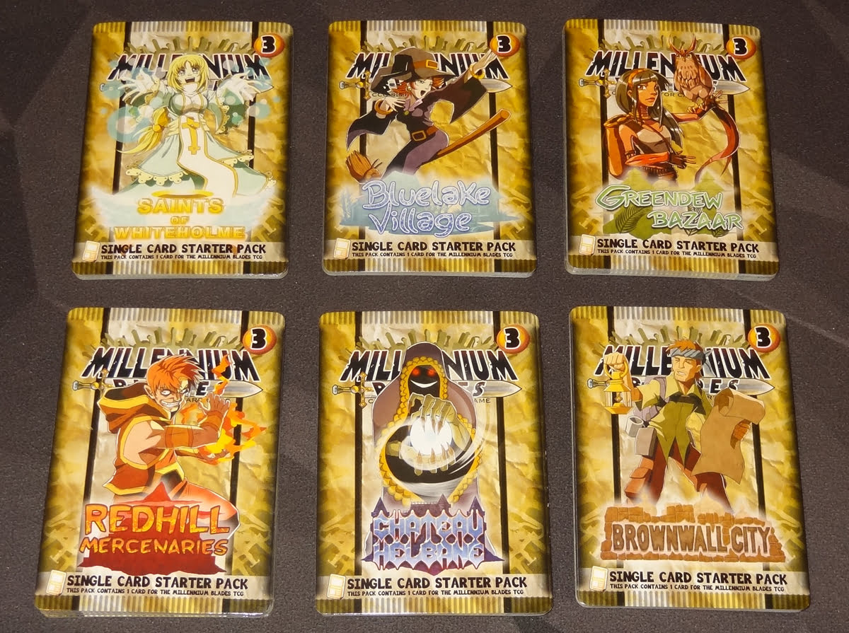 Millennium Blades starter decks