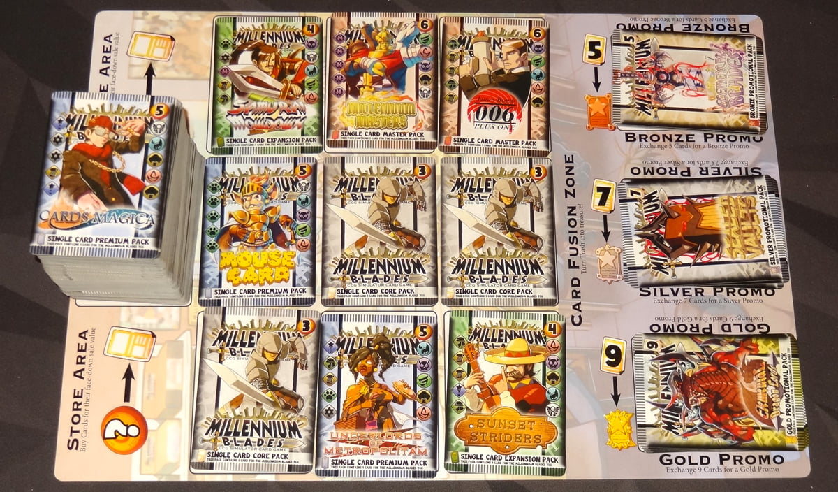 Millennium Blades store mat