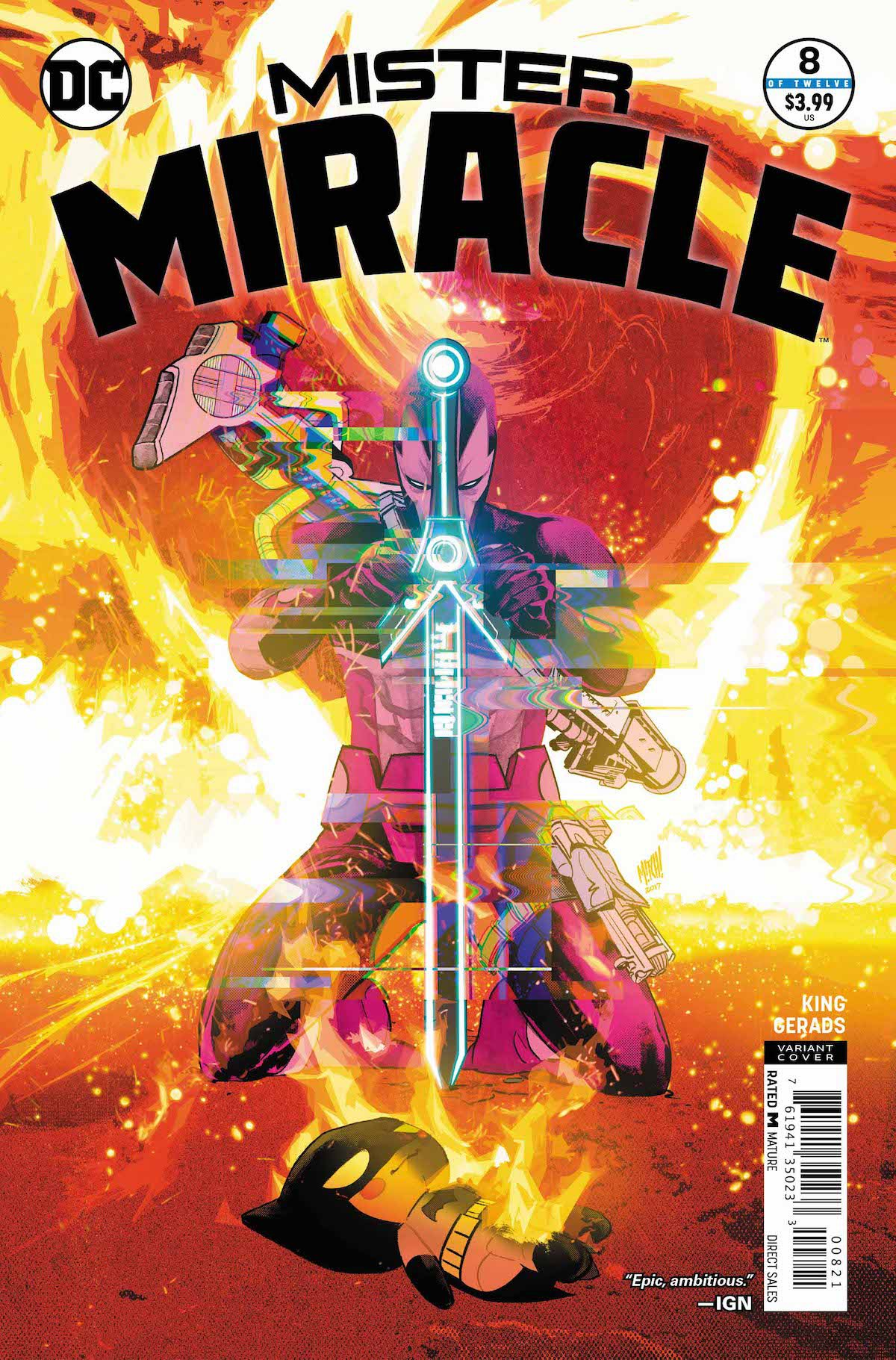 Mister Miracle #8 variant cover