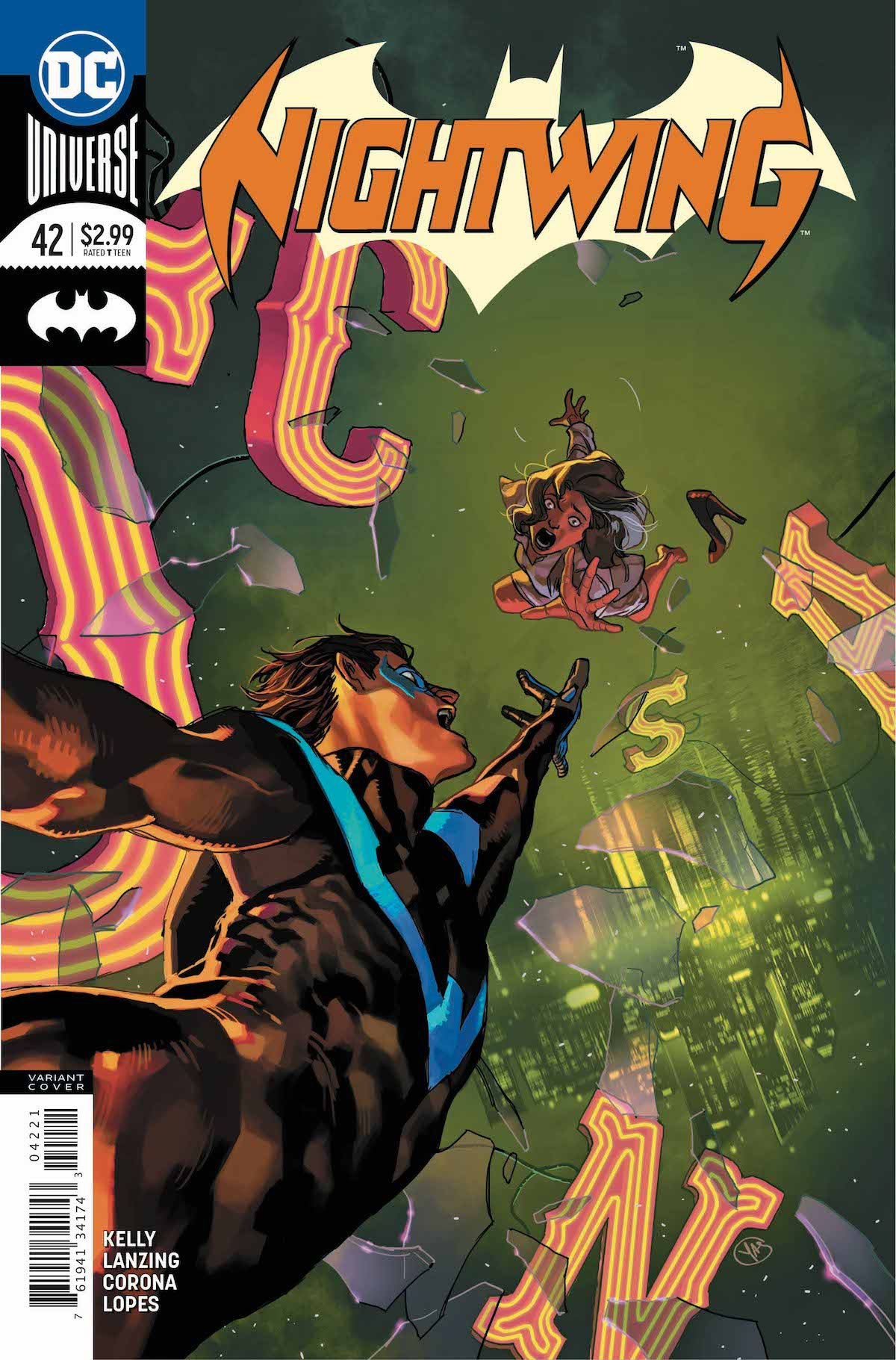 Nightwing #42 variant cover