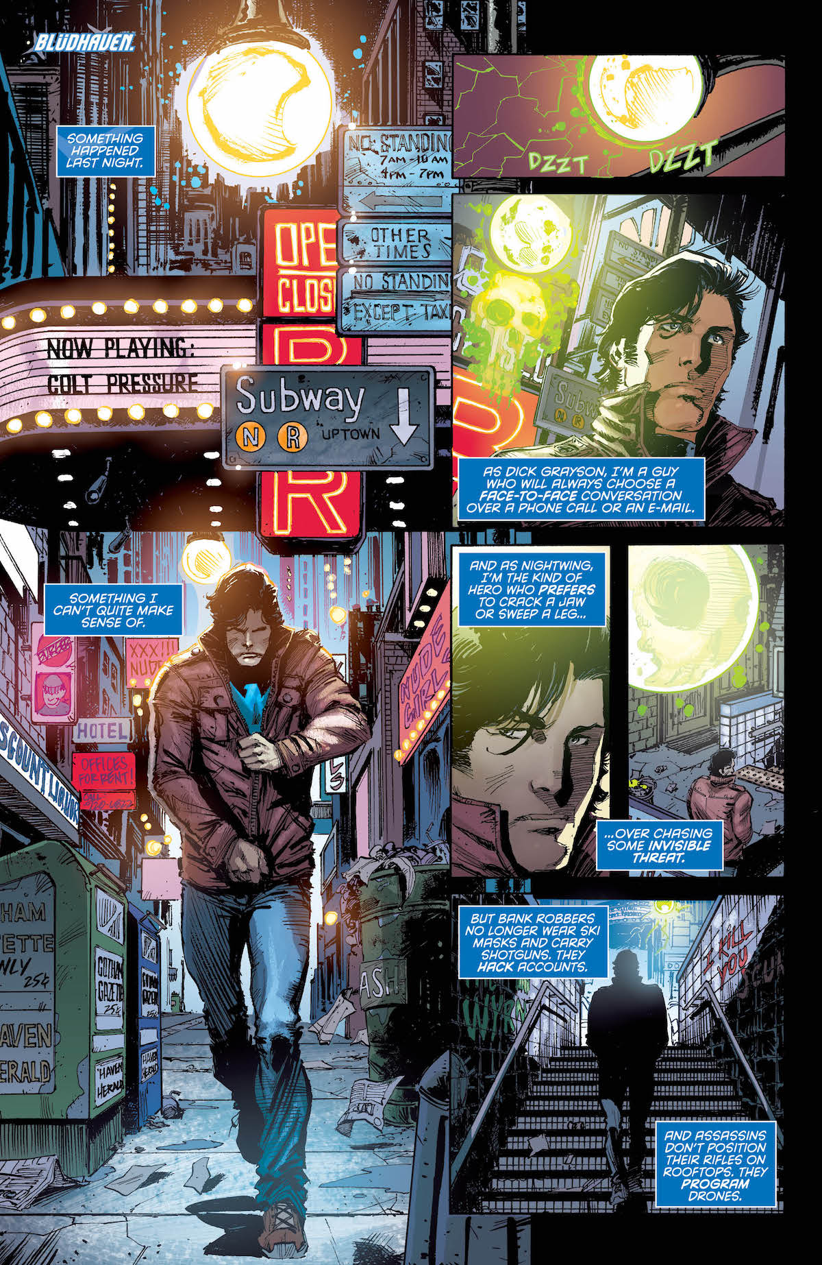 Nightwing #44 page 1