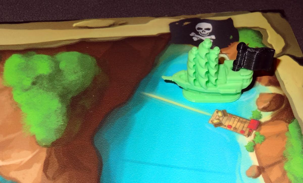 Pirate's Flag captured