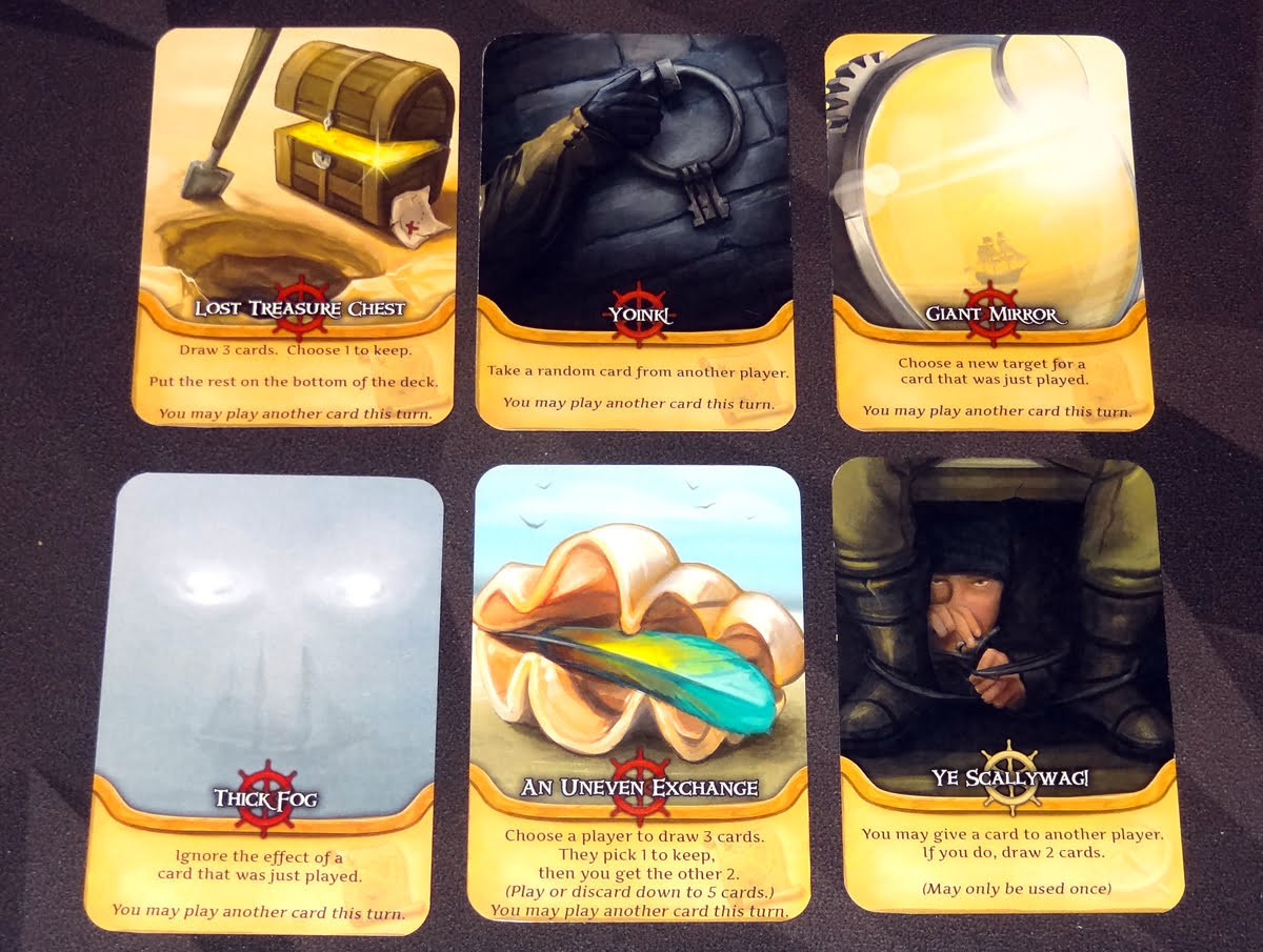 Pirate's Flag cards about cards