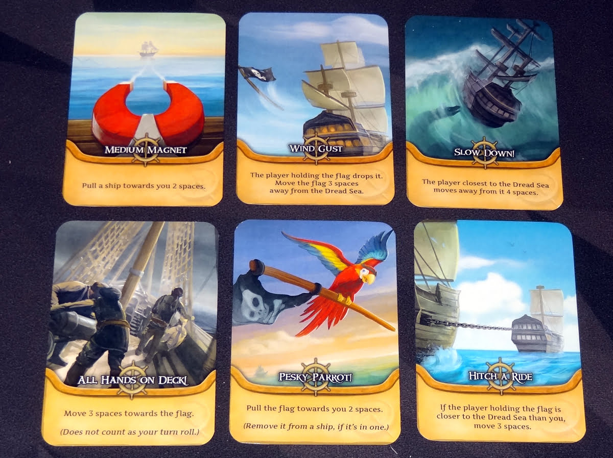 Pirate's Flag movement cards