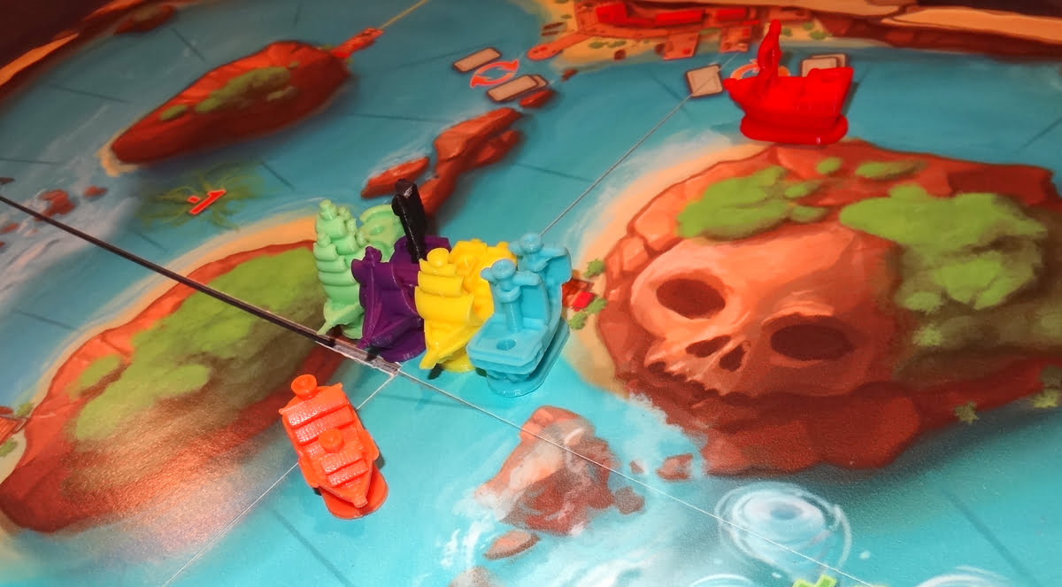 Pirate's Flag game in progress