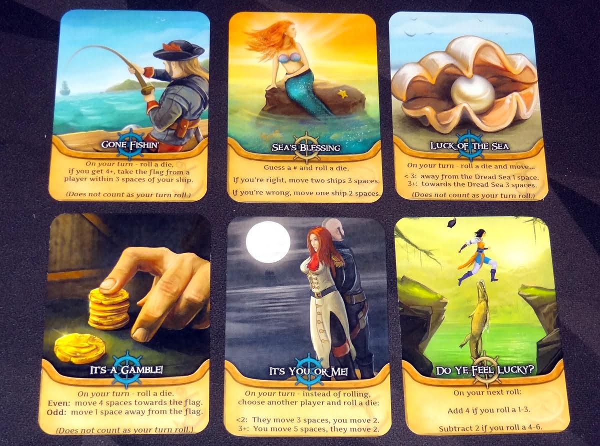 Pirate's Flag gambling cards