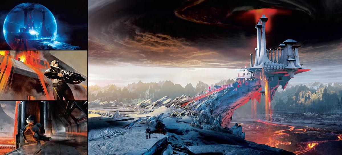 Designs for Castle Anorak on Planet Doom