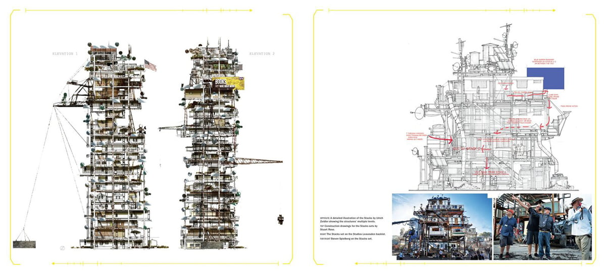 Ready Player One stacks design