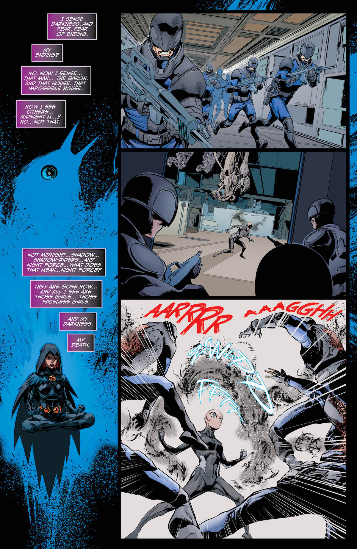Raven Daughter of Darkness #4 page 1