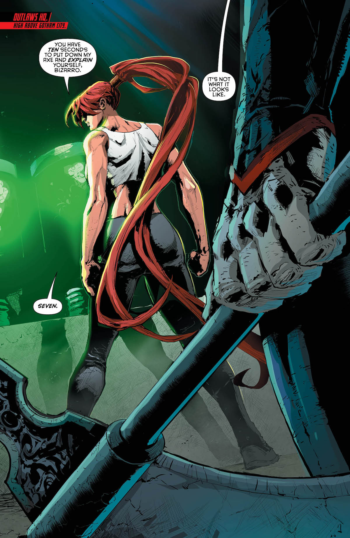 Red Hood and the Outlaws #21 page 1