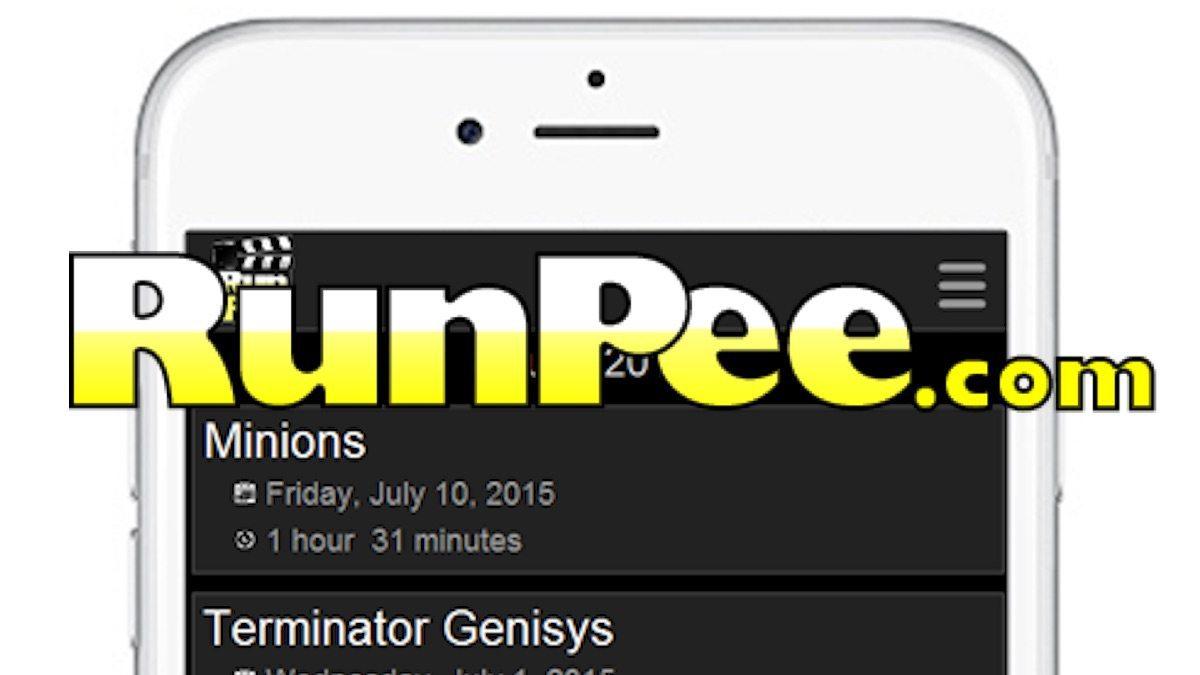 RunPee application