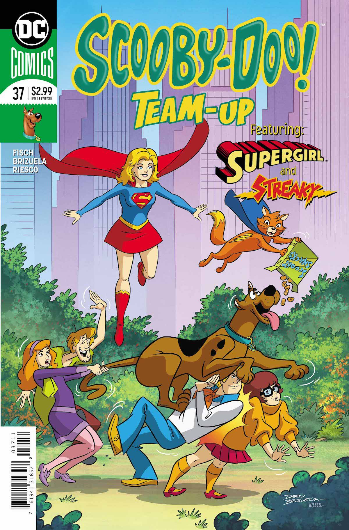 Scooby Doo Team Up #37 Supergirl