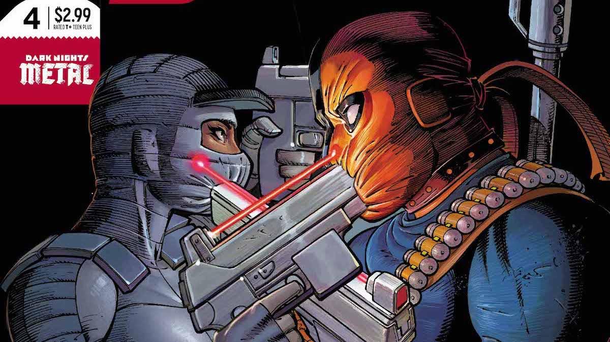 Silencer #4 cover
