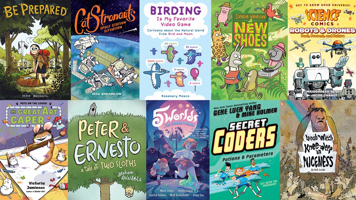 Stack Overflow: 10 Comic Books for Kids