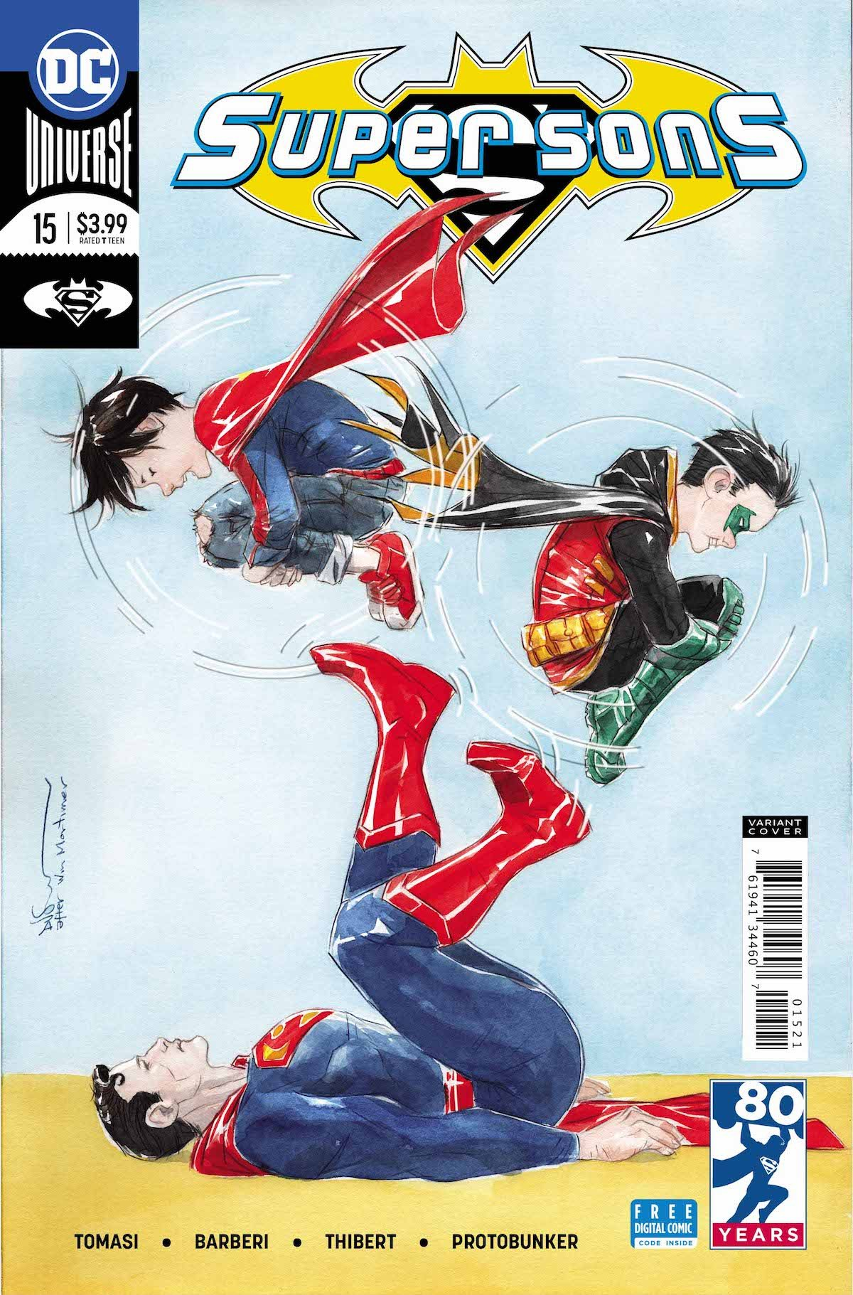 Super-Sons #15 variant cover