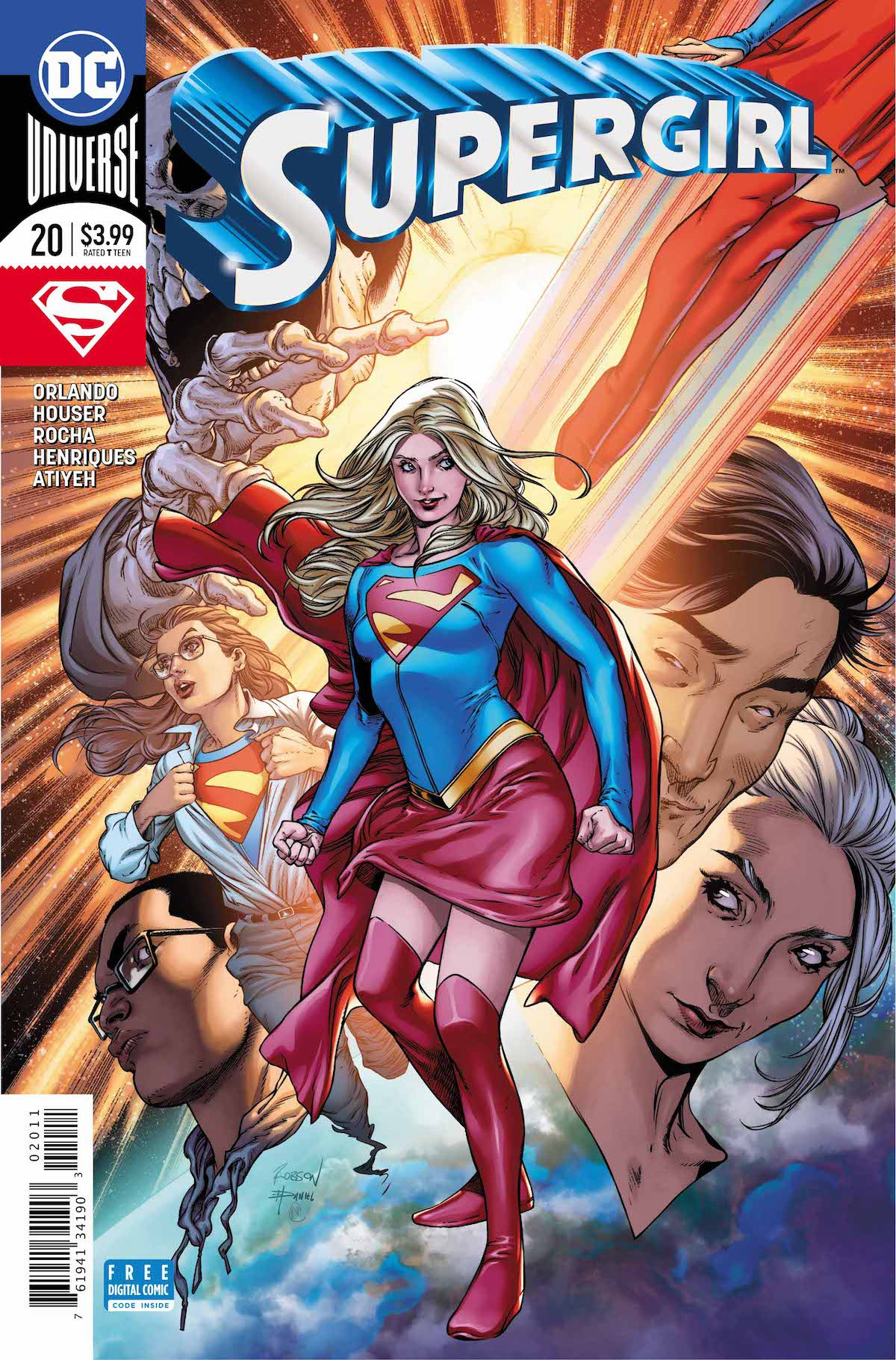 Supergirl #20 cover