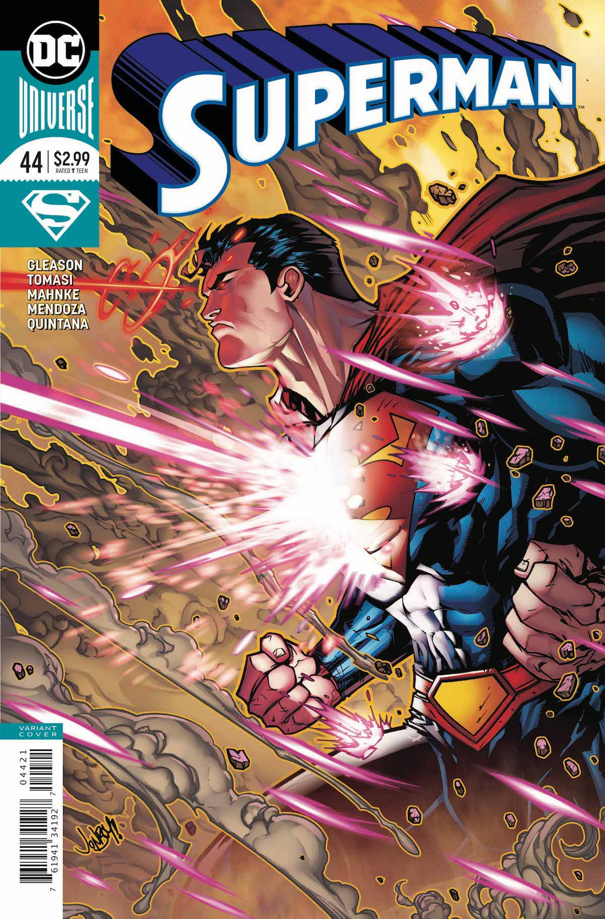 Superman #44 variant cover