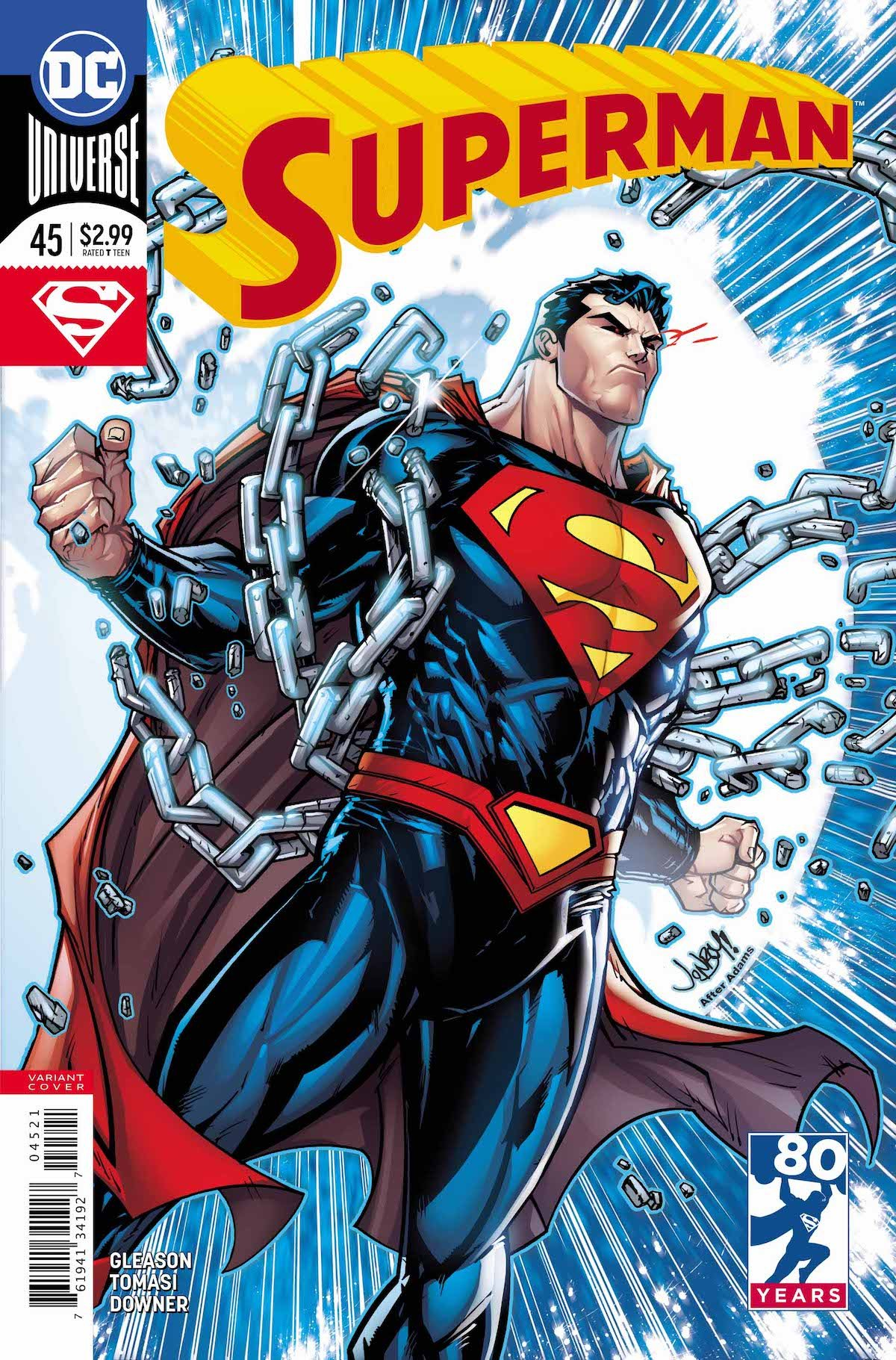 Superman #45 variant cover