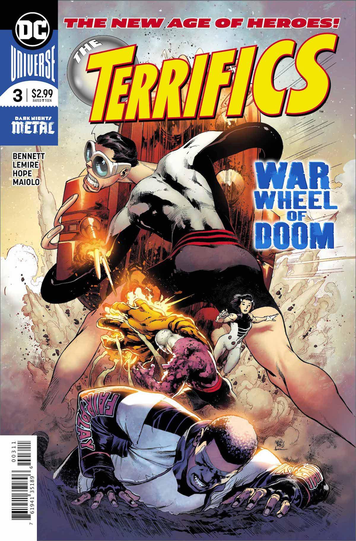 Terrifics #3 cover