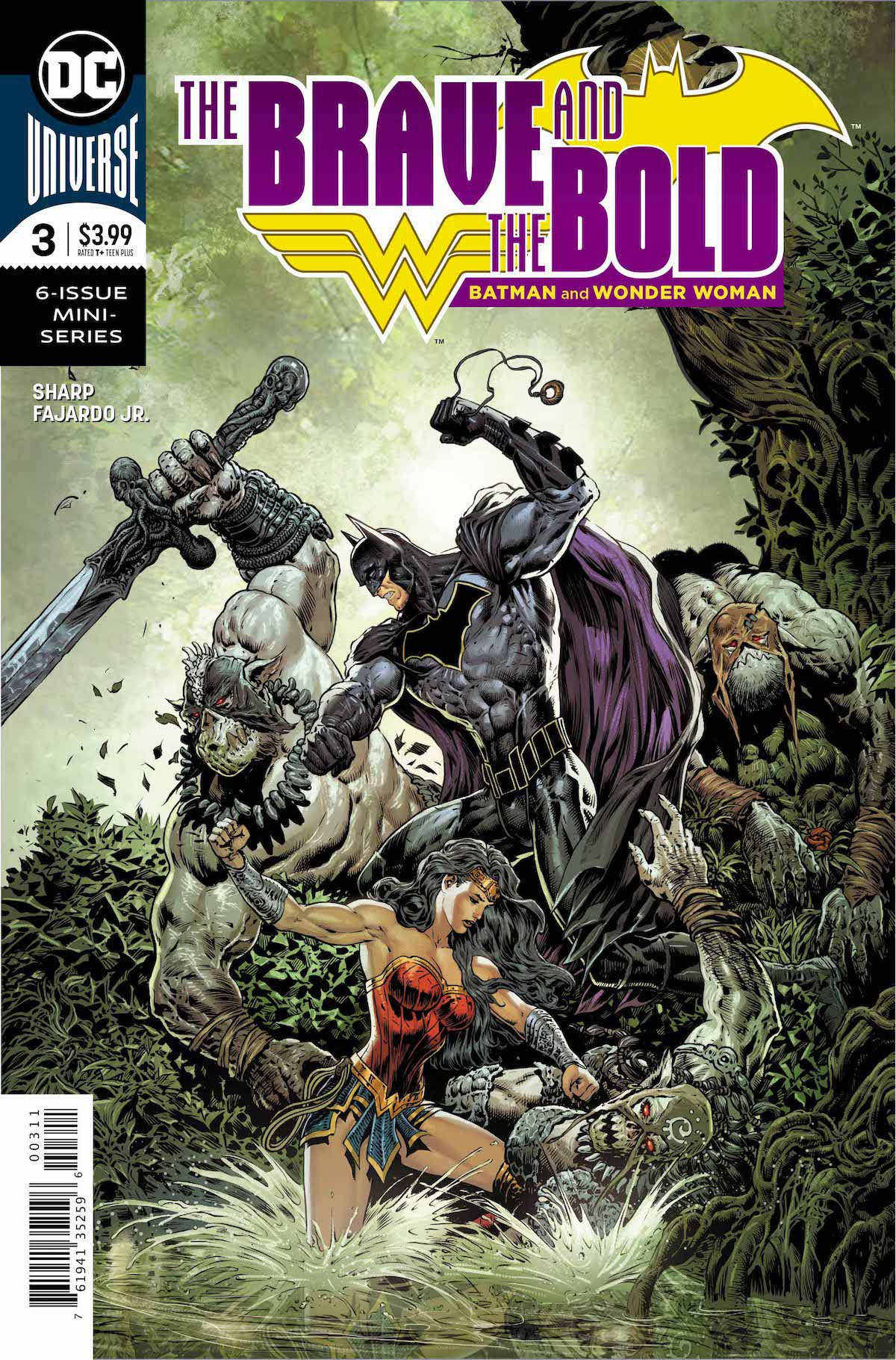 Brave and the Bold Batman and Wonder Woman #3 cover