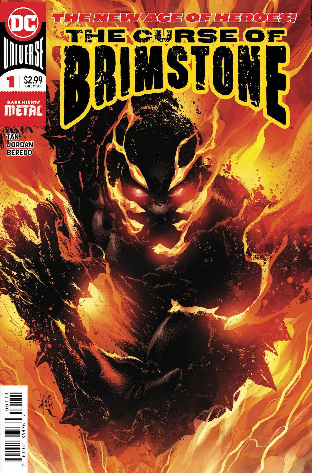 Curse of Brimstone #1 cover