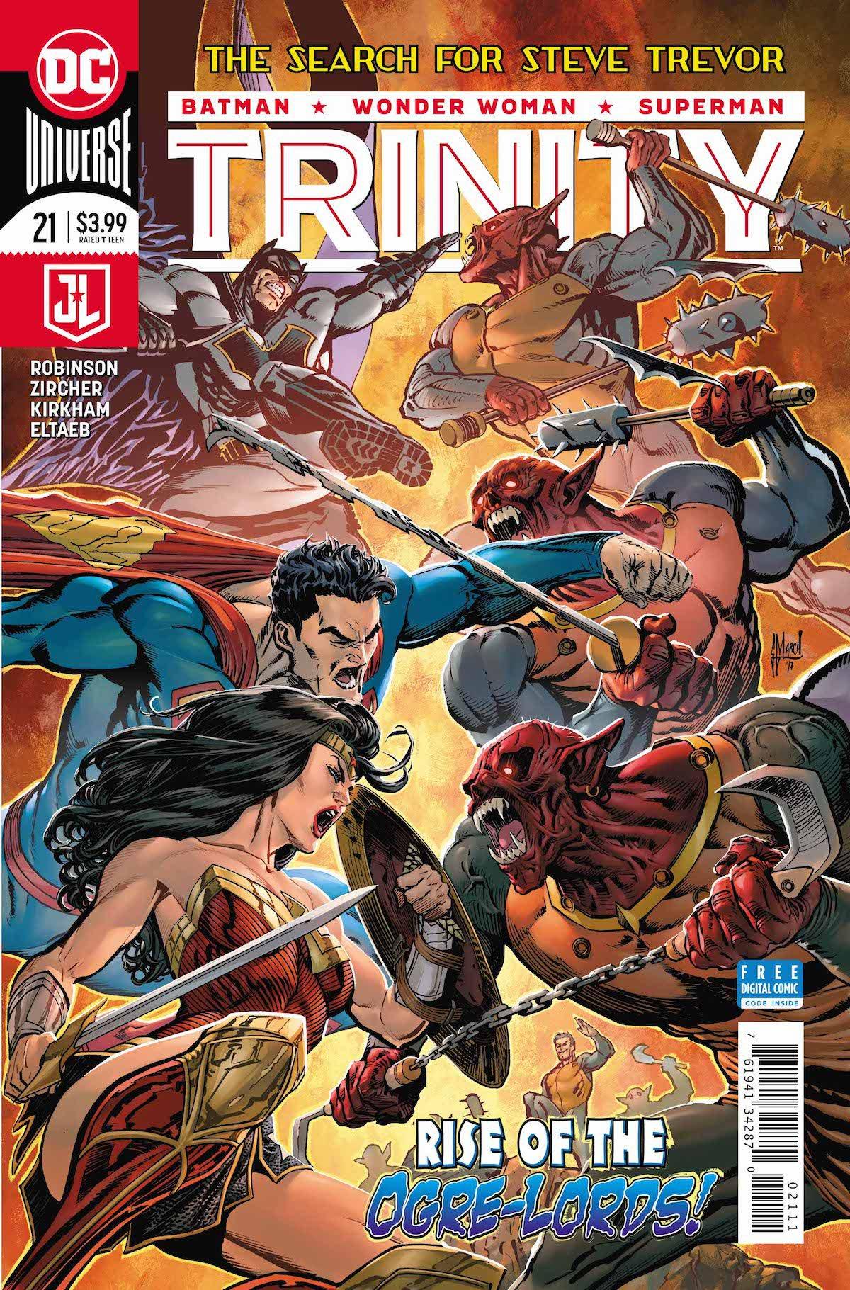 Trinity #21 cover