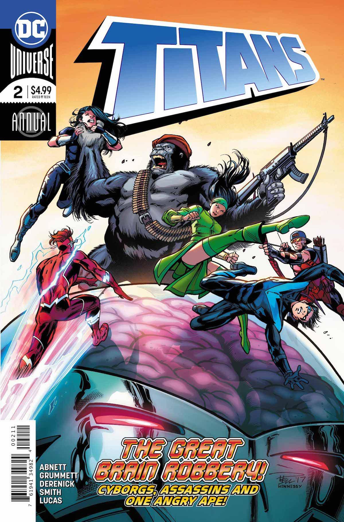 Titans Annual #2 cover