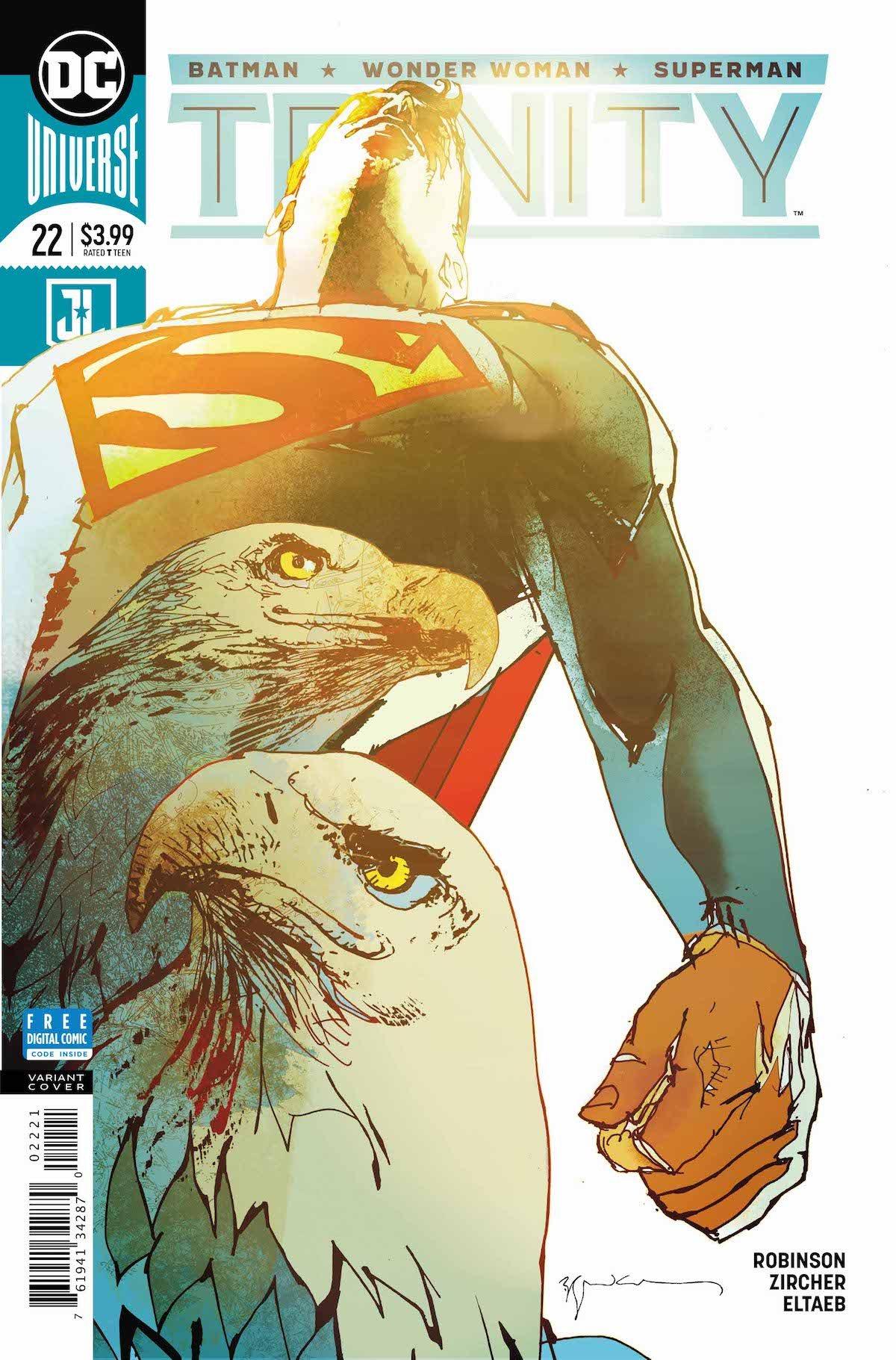 Trinity #22 variant cover