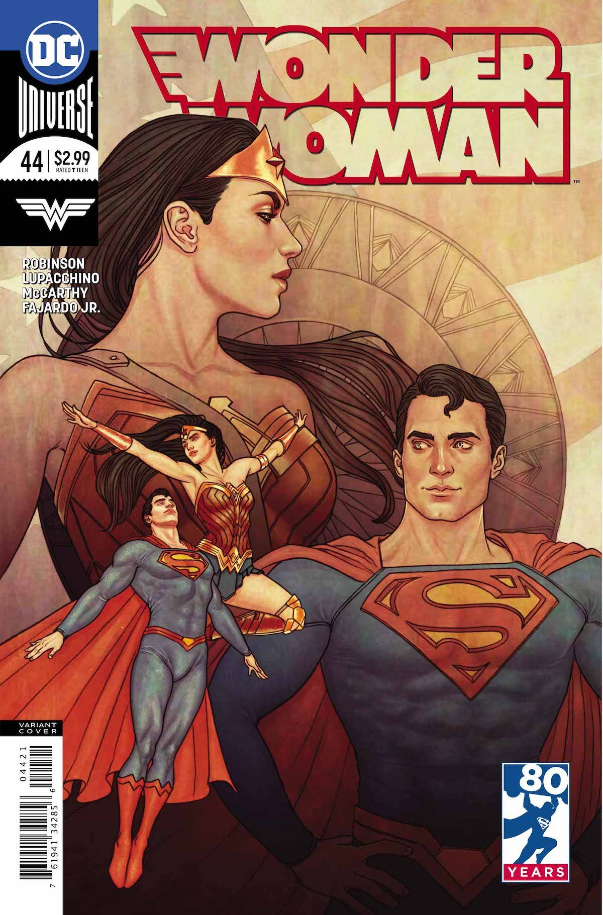 Wonder Woman #44 variant cover