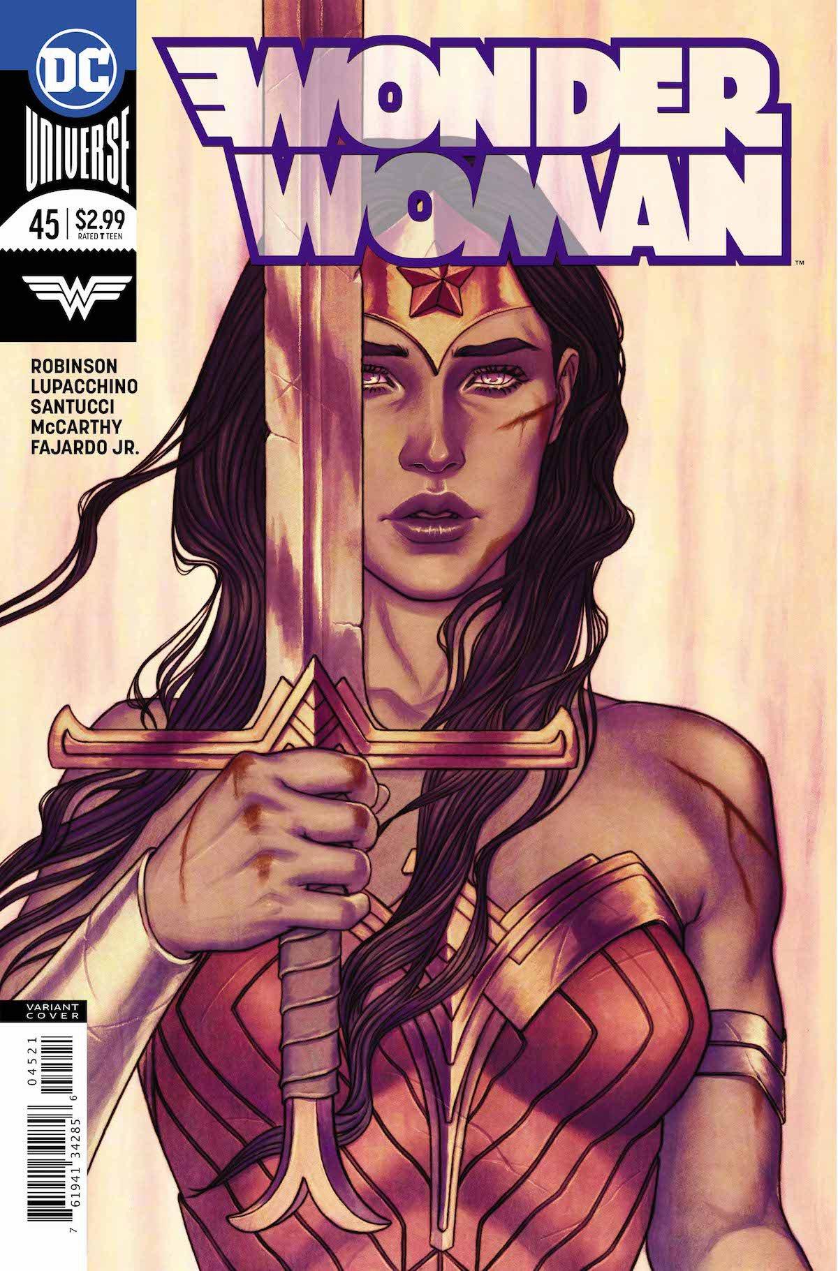 Wonder Woman #45 variant cover