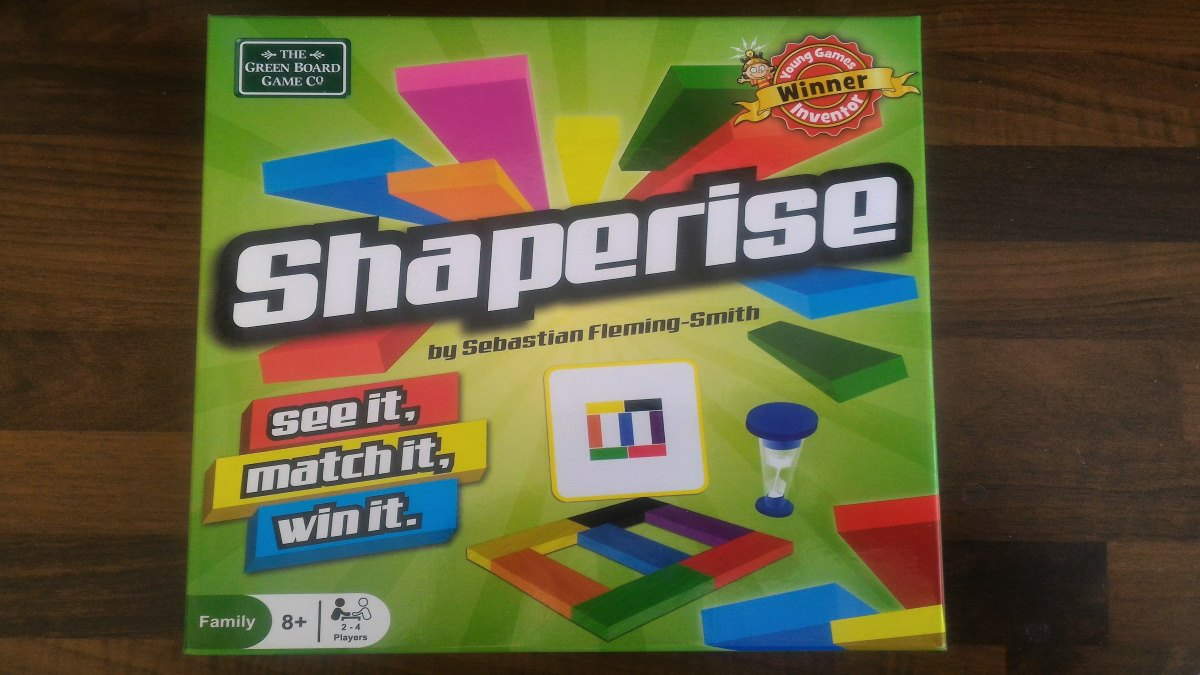 Tabletop Review Shaperise