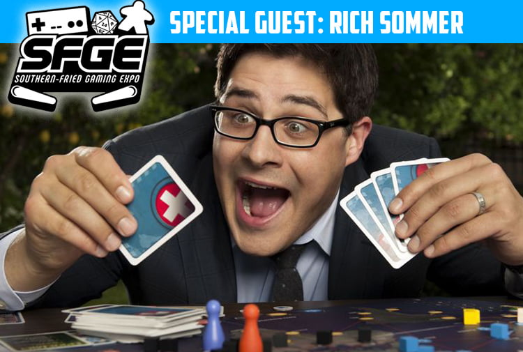 Southern-Fried Gaming Expo Guest, Rich Sommer