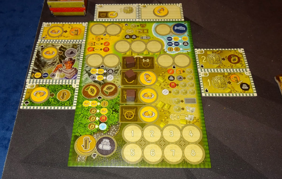 Altiplano action board with extensions
