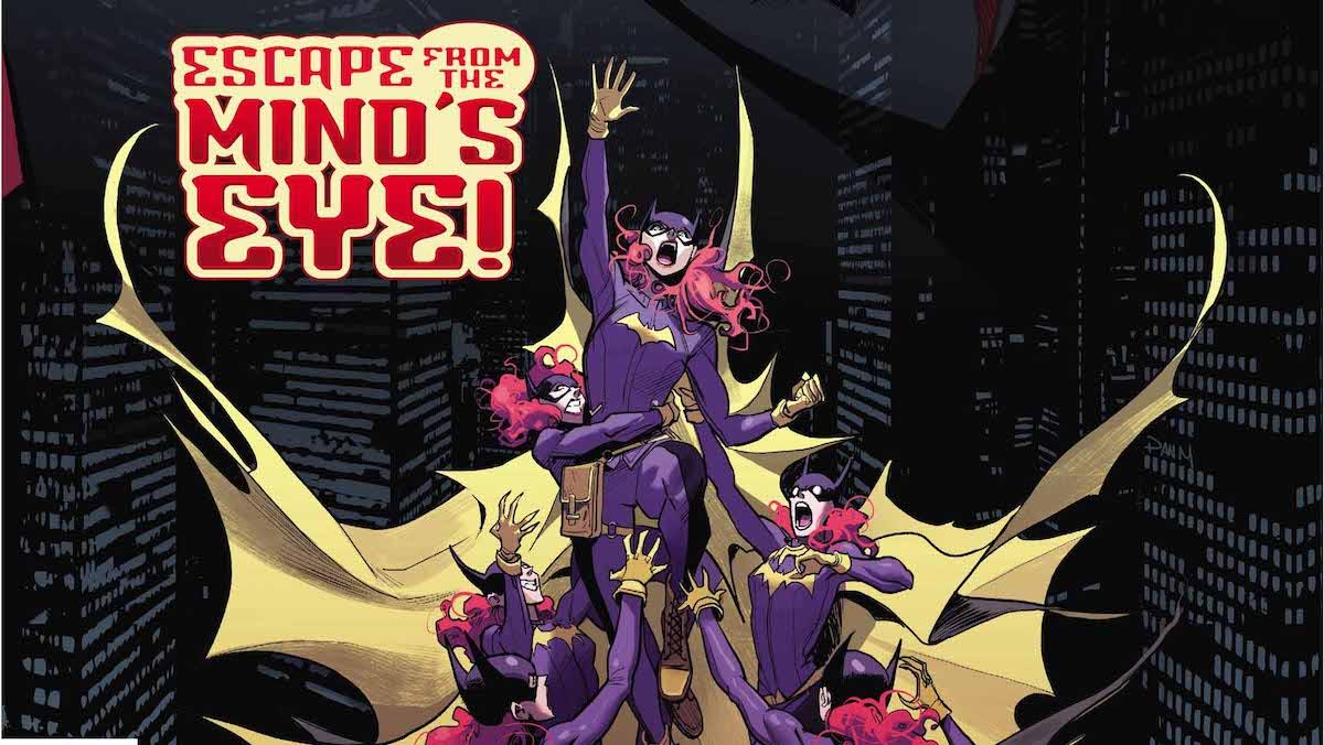 Batgirl #23 cover