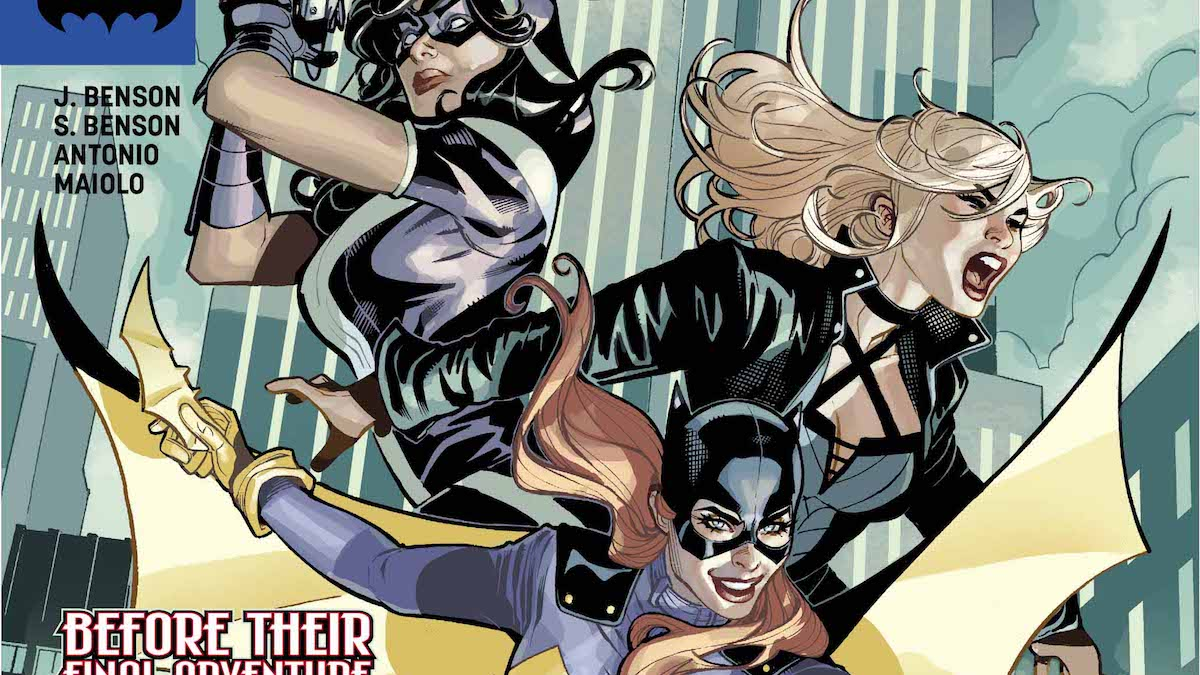 Batgirl and the Birds of Prey #22 cover